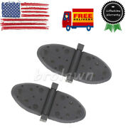 Pair Of Exhaust Flappers Water Shutters Fit For Mercruiser 1998 And Up 807166a1 Us