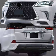 Upgrade Trd Super Sport Look Car Body Kit For Lexus Lx570 16-2021 White Painted
