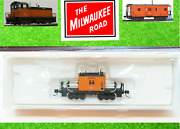 N Scale Fox Valley Models Fvm 91154 Milw Milwaukee Road Transfer Caboose 01773