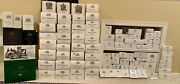 Dept. 56 Dickens Village Lot Of 97 Including 40 Buildings And 57 Accessories