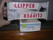 Walthers 1456 Clipper Express 2- 40' Van Trailors Kit H.o. 1/87