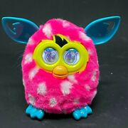 Furby Boom Hot Pink W/polka Dots Tested W/box 2012 - Tested - Works