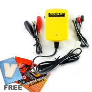 New Motobatt Baby Boy 6v And 12v Motorcycle Battery Trickle Charger, Auto Cut Off