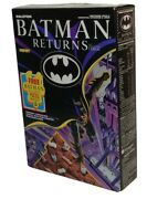 Sealed And New Batman Returns Vintage Cereal Sealed In Box 1992 Ralston W/ Puzzle