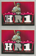 Mickey Mantle Gu Jersey Cards Home Run 1 His Numbers 6 And 7 Read Please