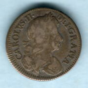 Great Britain. 1683 - Charles 11 Fourpence.. Fine