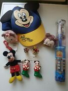 Disney Mickey Mouse And Minnie Mouse Job Lot Figures And Christmas Decorations Etc