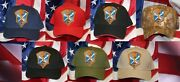 Us Army Intelligence And Security Command Hat Patch Cap Cia Pin Up Inscom Us