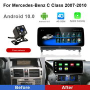 Android 10 Car Gps Video Wifi Auto Carplay For Mercedes Benz C Clk Class 2007-10