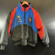Loony Tunes Duck Down Vintage Jacket Size M