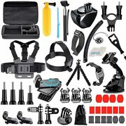 68-in-1 Accessories Kit For Gopro Black Hero Max 9 8 7 6 5 4 3+ Camere Film Hoby