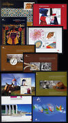 2007 Portugal, Azores, Madeira Complete Year Mnh. 20 Souvenir Sheets, Blocks.