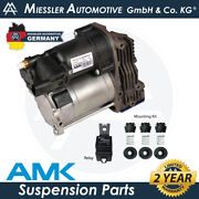 Opel Movano B X62 2010-2019 Amk Air Suspension Compressor And Relay 1052111100