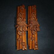 Old China Antique Folk Art Wood Carvings Antique Furniture Paperweight Antique