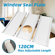 Jeacent Portable Air Conditioner Window Seal Plates Kit, Plastic Ac Vent Kit For