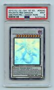 Yu-gi-oh Absolute Powerforce 1st Majestic Red Dragon Abpf-en040 Ghost Psa 9