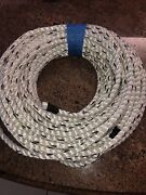 Robson 1/2 Black And White Rope General Uses Marine Tree Nylon 3 Strand 100andrsquo
