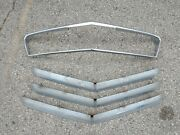 1956 Chrysler Windsor Front Complete Metal Grill Grille Screen Surround 1624105