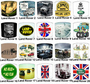 Land Rover Defender Lampshades Ideal To Match Duvet Covers