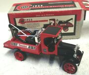 1995 Ertl 1925 Kenworth Wrecker Coastal Gas And Oil 3 Collector Toy Bank In Box