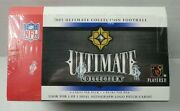 2005 Upper Deck Ultimate Collection Football Hobby Box Aaron Rodgers Sealed New