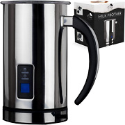 Electric Milk Frother, Steamer Warmer Coffee Milk Hot Chocolate Stainless Steel