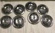 1965 Plymouth 14-inch Hubcap Wheel Covers Vintage Original Lot Of 8 Used