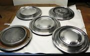 1970 Plymouth Hubcap Wheel Covers 4 Originals And 1 Aftermarket Lot Of 5 Used