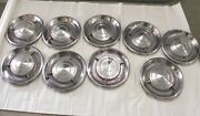 1960 Chrysler Imperial Vintage Factory Original Oem Hubcap Wheel Covers Lot Of 9