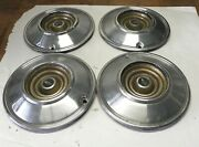 1966 Chrysler Vintage Oem 14-inch Hubcap Wheelcovers Sold As A Lot Of 4 Used