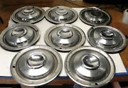 1960 Chrysler Vintage Oem 14-inch Hubcap Wheel Covers Sold As A Lot Of 8