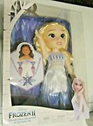 Disney Frozen 2 Elsa Snow Queen Doll And Accessory Set New Free Shipping In Us