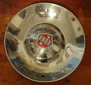 Vintage Oem Metal Wheel Covers Rare 15 Good To Vg Condition. L@@k Lot B
