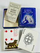 Vintage Gypsy Witch Halloween Fortune Telling Cards Magic Trick