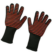Oven Gloves Oven Mitt Hot Surface Handler Bbq Hold For Kitchen Microwave