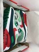 New Mens Nike Air Max 90 Nordic Christmas Shoes Sz 10.5 Ugly Sweater Dc1607 100