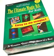 Ultimate Magic Kit For Kids Trick Set Beginner Magician Book Flower Wand Box Toy