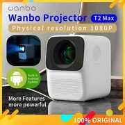 Global Version Wanbo T2 Max Lcd Projector Led Support 1080p Vertical Keystone
