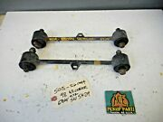 96-02 Toyota 4runner 4x2 Only Oem Stock Rear Upper Control Trailing Arm Set Pair