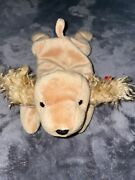 1997 Retired Spunky Beanie Baby W All Tags/ Comes W Display Case