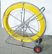 Used12mm Fish Tape Fiberglass Wire Cable Running Rod Duct Rodder Fishtape Puller