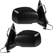 Exterior Mirror Set For Bmw E53 X5 Year 99-07 Electric 14-pin Heated Memory S48