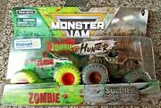 Monster Jam Zombie Invasion Zombie Vs Soldier Of Fortune Wal-mart Se 1-64 2-pk