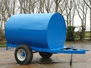 Trailer Engineering 2000ltr Site Tow Fuel Bowser Andpound1750 + Vat