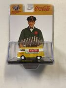M2 Machines Coca Cola A04 - 1960 Vw Delivery Van - Limited Ed. Of 2450