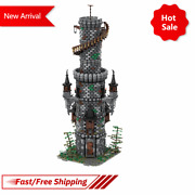 Moc Wizardand039s Tower Fairy Tale Cottage Castle Model Builing Kid Assemble Gift Toy