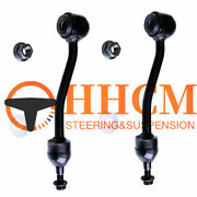 2pcs Front Sway Bar Links Front Driver And Passenger Side For Jeep Tj Wrangler