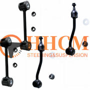 4pc Front And Rear Sway Bar Links For 1997-2006 Jeep Wrangler Tj