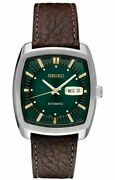 Seiko Recraft Snkp27 Automatic Stainless Steel Green Snkp27-new