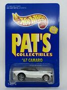 Hot Wheels 1995 Limited Edition Pats Collectibles '67 Camaro 1 Of 7000